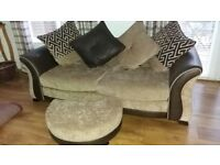 Large 3 seater settee