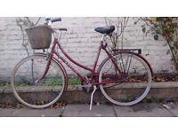 Vintage Apollo 3 Speed bike with basket