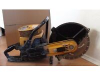 Partner k650/ stihl concrete saw