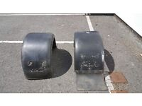 VW LT 40 / 45 MK1 chassis cab rear wheel arches