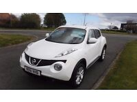 NISSAN JUKE 1.5 TEKNA DCi,(61)plate,Leather,Sat Nav,Cruise,Privacy Glass,Alloys,Full Service History