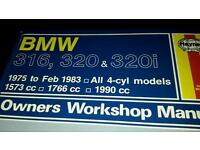 BMW car manual for sale
