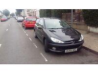 Peugeot 206 1.4 petrol automatic 2005 quick sale