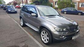 BMW X5 3.0D Sport 2006 (56) Sat Nav/TV in stunning Metallic Grey New MOT