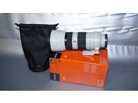 Sony 70-200 FE G-OSS for Sony Emount cameras