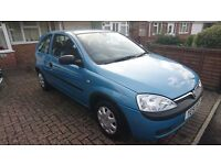 Vauxhall Corsa Club 1.0L, economical, good runner, ideal first car, low mileage