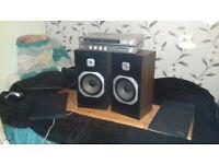 Vintage speakers setup