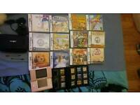 Nintendo DS, case, 2 games and games case