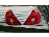 Pair of Ford mondeo mk3 rear light lenses