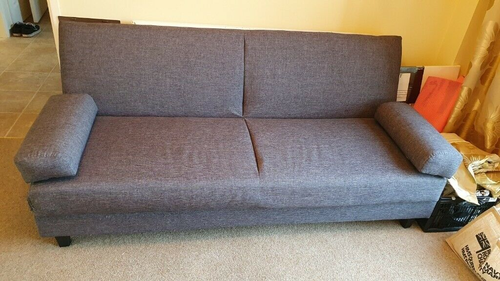 Picture of: Grey Fold Down Sofa Bed With Storage In West End Hampshire Gumtree