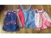 Large bundle girls clothes 18-24 months