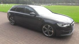 AUDI A6 ADVANT 2013 - BLACK EDITION. 2.0 DEISEL (MINT EXAMPLE)