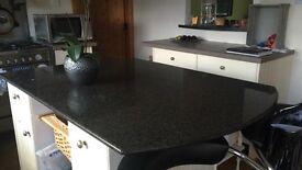 Granite worktop for kitchen island