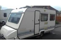 1994 adria 4 brith with full awning and extras
