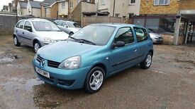 2007 Renault Clio 1.5 TD Campus 3dr / F/S/H/ LOW MILEAGE / £30 TAX