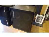 TC Electronic RS410 bass cabinet.