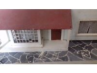 Handmade dolls house Handmade carpet and furniture in every room