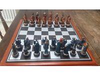 Chess Set - Mythical Dragons