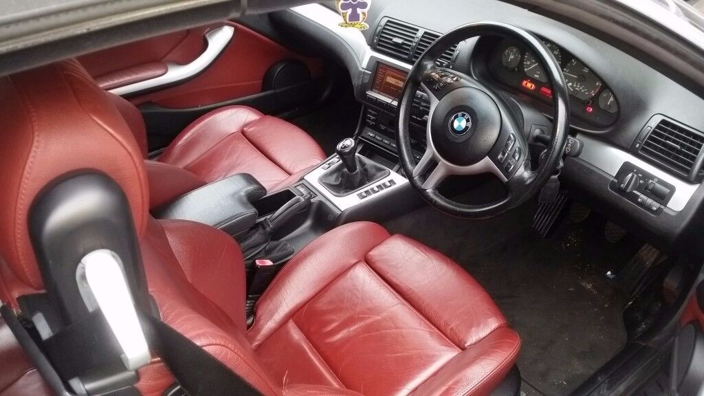 Bmw 325 Convertible 2001 Mot Till 10 2018 Red Leather Interior In Norwood London Gumtree
