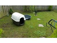 Dog kennel and bed