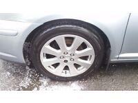 "Toyota Avensis 17"" TR model alloy wheels & tyres £250"