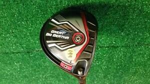 RH Callaway Great Big Bertha Tour Spec Regular *9 Driver