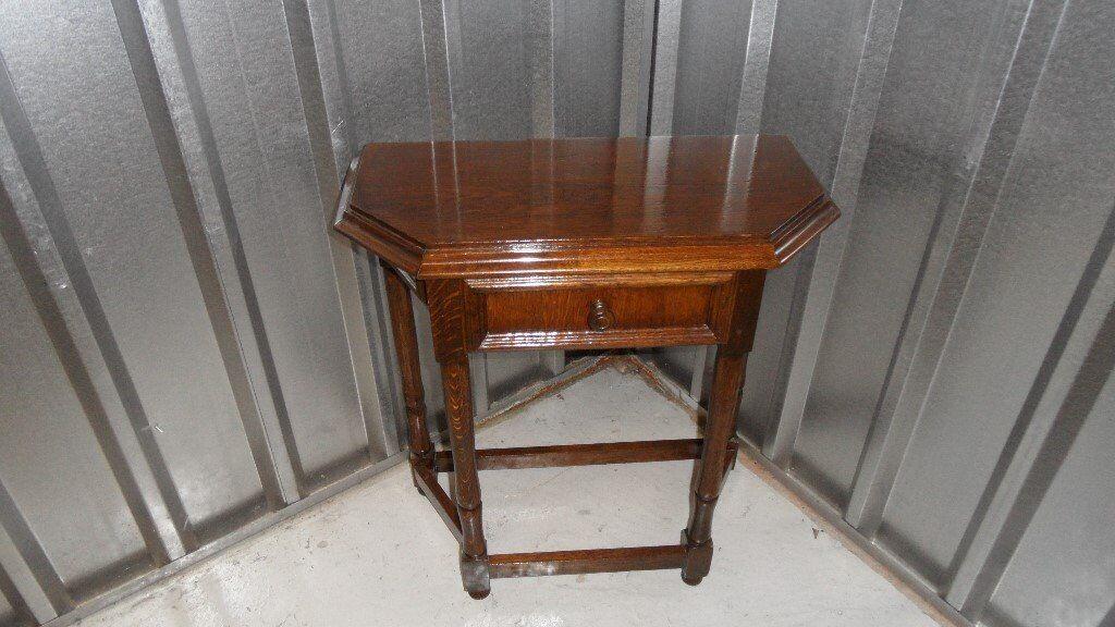 Mahogony hall/telephone table