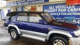 Toyota hilux surf 3.0 diesel automatic new 12 months mot