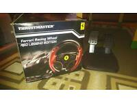 Thrustmaster Racing wheel for Pc and Ps3