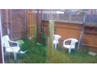2bed ground floor with garden in West London for 1/2 beds in greater London