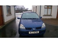 2002 Renault Clio 1.5 dci Expression £30 road tax. Audi Peugeot Ford Citroen Cheap Van Quick sale