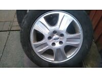 16 inch Genuine Ford Mondeo Zetec 5 Stud Spare Alloy Wheel & 205 55 16 Michelin Tyre