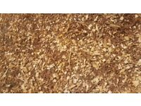 Freah bark chippings