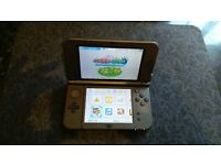 3DS XL With Sky3DS Card and 64mb SD Card