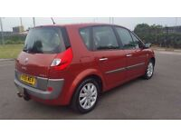 RENAULT SCENIC 1.6 AUTOMATIC IN EXCELLENT CONDITION. LONG MOT & TAX. ALL PREVIOUS MOT AVAILABLE