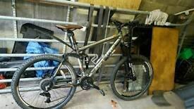 Carrera banshee mountain bike