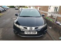 Honda Civic 2009 Petrol Manual. 6 month MOT left and 1.8L engine. Fabric Interior.