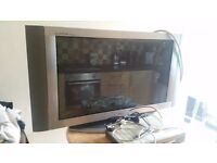"For Sale - 40"" wide screen LG Flatron Plasma TV."