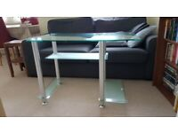 Glass Office desk (computer desk) perfect for home office and/or study