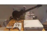 Xbox 360 with 14 games