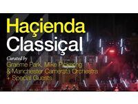 Hacienda Classical - Fri 26th May - Royal Albert Hall - Stalls G - All Tickets 100% Guaranteed