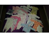 Baby Girl clothes bundle 0-3 and 3-6 month