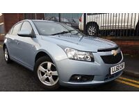 2010 Chevrolet Cruze 1.6 i LS 4Dr Saloon, FSH, WARRANTY & BREAKDOWN AVAILABLE, £2,995