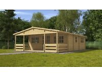 2 bedroom log cabin kits from only £5000, 3 bed 2 floor houses built for only €30,000