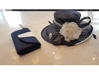 Wedding hat and bag - Jacques Vert