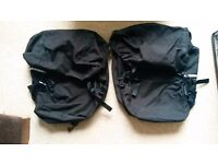 Pair of bike panniers