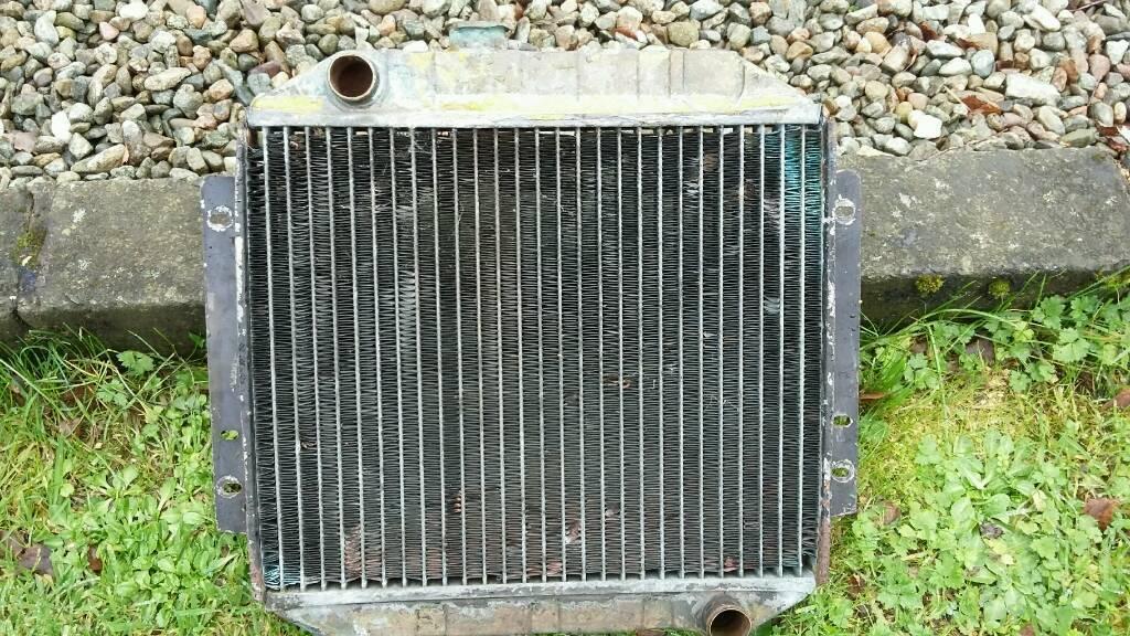 Ford capri radiator escort mk 2