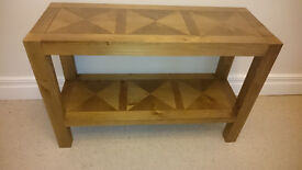 Marks & Spencer BAILEY Console Table, RRP £279; excellent condition.