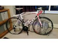 "Cube peloton road bike hardly used, 58"" frame"