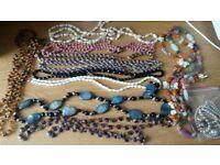 12 pieces of costume jewellery-FREE